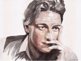 James McAvoy portrait by Albagf