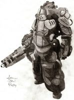 Helghast Heavy by dirtbiker715