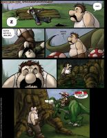 Mario Brothers page five.. by ohTHATsean