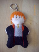 Harry Potter -Ron Plushie by petalxrain