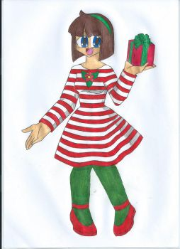 Merry Christmas by animequeen20012003