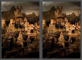 Dark Ages village - CE3D by NightSheep