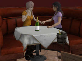 Date night out by KairiRatten