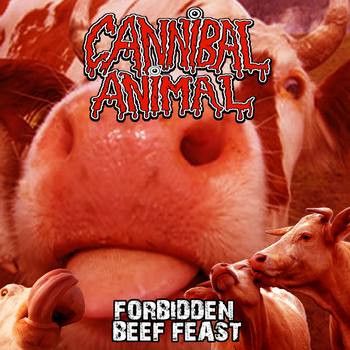 Cannibal Animal LP by curtsibling