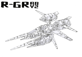 R-GRAY 02 outline A by 4-X-S
