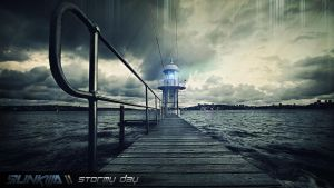 Stormy Day by Sunkilla-FR