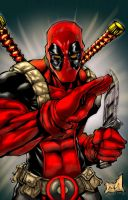 DeadPool by Art-Of-Malacai-Brown