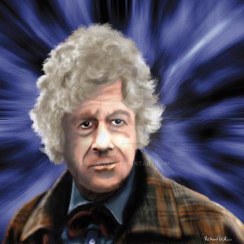 Third Doctor - Jon Pertwee by Fulgrim65