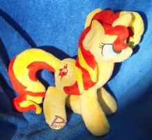 Sunset Shimmer V1 Bendy -Glow-in-the-Dark- by kiashone