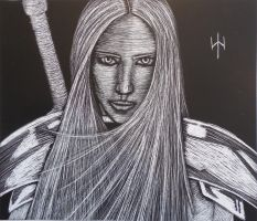 Claymore: No. 3 Audrey by ThePensivePrince