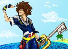 The Sky Goes on Forever: Sora by PlasmaUnicorn