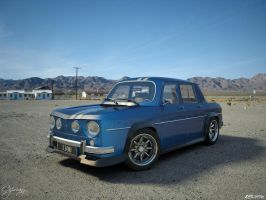Renault 8 Gordini 1300-4 by cipriany