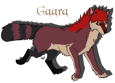 .Gaara Reference Sheet 2012. by FuegoLovesLily
