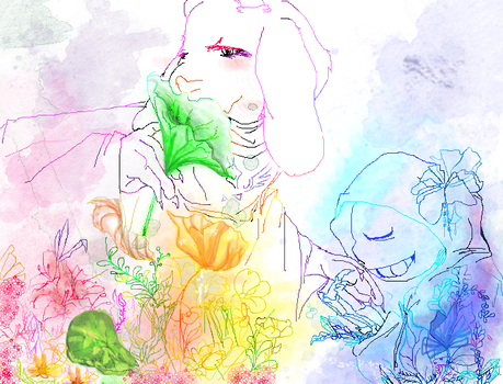 HECK YEAH FLOWER SORIEL color with Photoshop by Art-in-heart4va