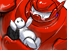 Baymax Baybe by GooGooDolls-Angel