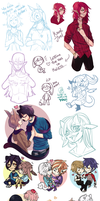 Sketch Dump by Zethya