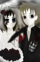 The Corpse Bride and Groom V2 by Baeacnkgi
