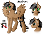 ArtSong Reference Sheet by Amazing-ArtSong