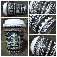 Starbucks Cup Doodle #8 by isnani