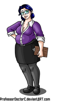 Chubby Miss Pauling by ProfessorDoctorC