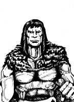 Conan sketch by dsherburne