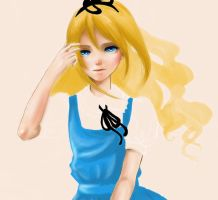 Alice zoom in WIP by ikimoo