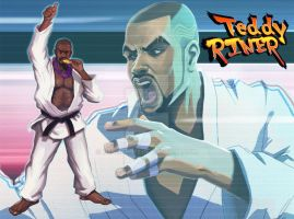 Teddy Riner by Messiah972