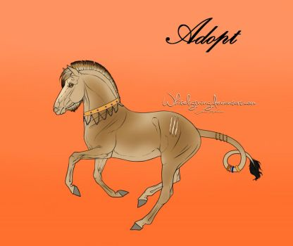 Themed Horse Adopt #4 [Close] King of the Savannah by Schlangenfrost