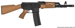 M-4AK The Next Generation by GeneralTate