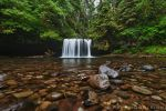 Waterfall - Upper Butte Creek Falls by La-Vita-a-Bella