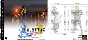 FFX CD Cover 2 by masamune