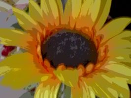Artificial Sunflower by Anere