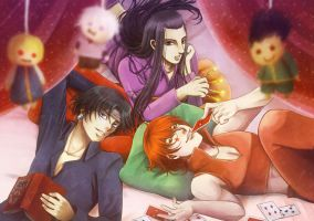 HUNTER X HUNTER Adultrio by gensoukai12