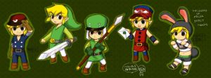 Spirit Tracks Link outfit :D by Mirai-Link