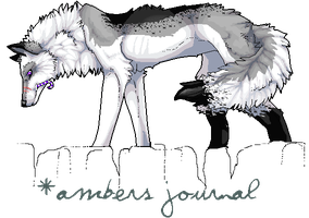 Journal Header by AmberSea