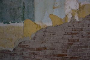 Paint on Brick by Stock-M