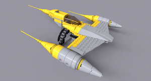 07660 Naboo Fighter by KnightRanger