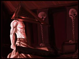Pyramid Head by dreamwatcher7