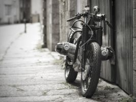 On its own two wheels by Dogbytes