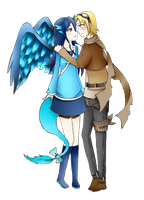 PC: Mareina and Ezreal by PineNAPPO