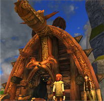 Hiccup's house by moonofheaven1