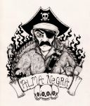 The infamous Pirate, Alma Negra by inkarts