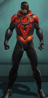 Cyclops (DC Universe Online) Phoenix Force by Macgyver75