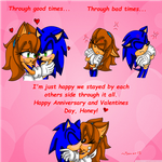 Happy Anniversary/Valentines Day! by Sonar15