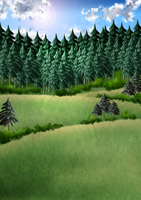 Free Artemis Forest Background by SweetLittleVampire