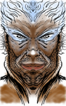 Symmetrical Man by LineDetail