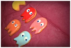 pacman cookies by stormare