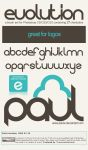 Evolution Font psCS Brush Pack by PAULW