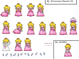 Super paper mario- Princess Peach part 2 by Princess-Peach-64