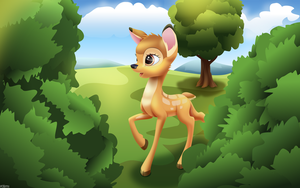 Bambi by iOVERD